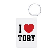 I love Toby Keychains