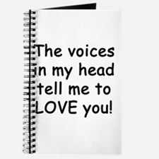 Voices say love you! Journal
