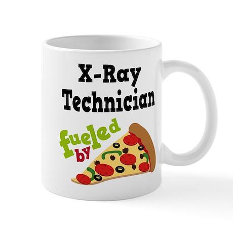 X-Ray Technician Funny Pizza Mug