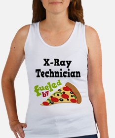 X-Ray Technician Funny Pizza Women's Tank Top