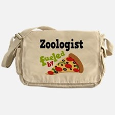 Zoologist Fueled By Pizza Messenger Bag