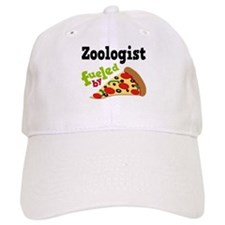 Zoologist Fueled By Pizza Baseball Cap