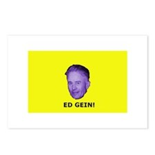Ed Gein (Yellow) Postcards (Package of 8)
