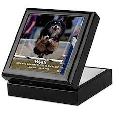 """Wyatt"" In Memory Keepsake Box"