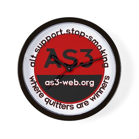 AS3 Logo Wall Clock