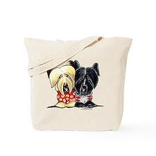 Skye Terrier Sweaters Tote Bag