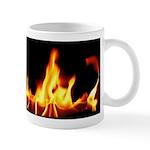 Fire License Plate Mug