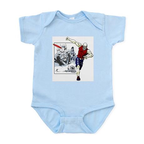 Tomb of Trouble Infant Bodysuit