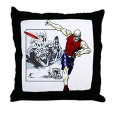 Tomb of Trouble Throw Pillow