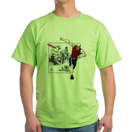 Tomb of Trouble Green T-Shirt
