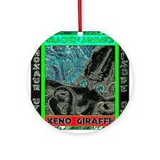 Kracken Awakes Aqua.png Ornament (Round)