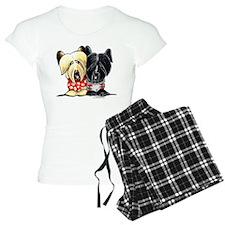 Skye Terrier Sweaters Pajamas