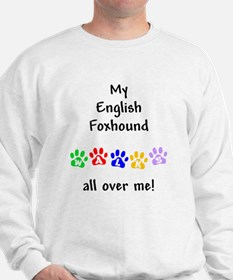 English Foxhound Walks Sweatshirt