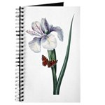 Iris with Butterfly Journal