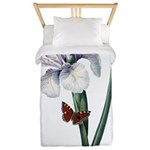 Iris with Butterfly Twin Duvet
