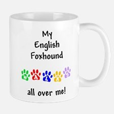 English Foxhound Walks Mug