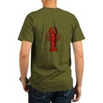 Crawfish Organic Men's T-Shirt (dark)