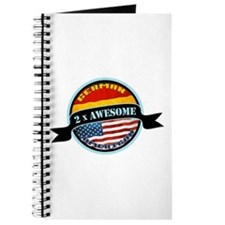 German American 2x Awesome Journal