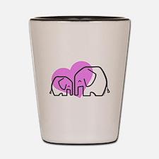 Elephants (1) Shot Glass