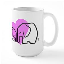 Elephants (1) Mug