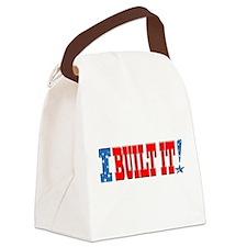 I Built It! Canvas Lunch Bag