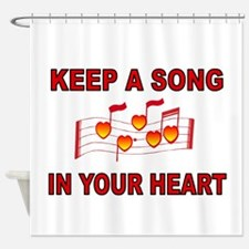 HEART SONG Shower Curtain