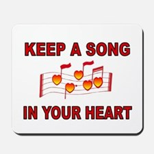 HEART SONG Mousepad