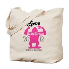 NEW Love them GREENS Tote Bag