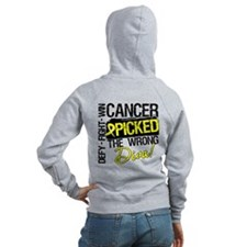 Wrong Diva Sarcoma Cancer Zip Hoodie