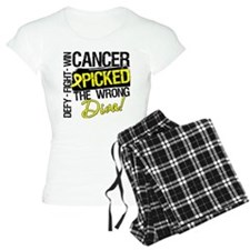 Wrong Diva Sarcoma Cancer Pajamas