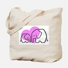 Elephants (1) Tote Bag