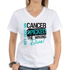 Wrong Diva Ovarian Cancer Shirt