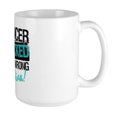 Wrong Diva Ovarian Cancer Ceramic Mugs