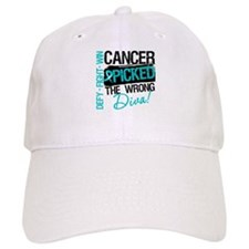 Wrong Diva Ovarian Cancer Cap