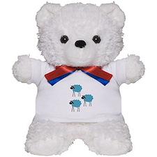 Sheep Fight Club Teddy Bear