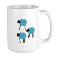 Sheep Fight Club Mug