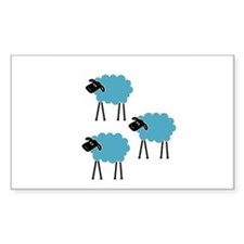 Sheep Fight Club Decal