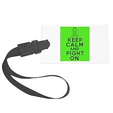 Lymphoma Keep Calm Fight On Luggage Tag