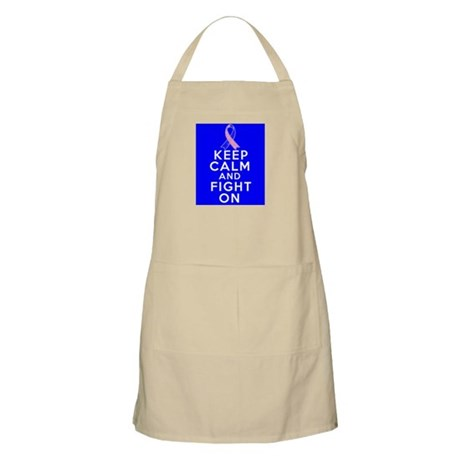Male Breast Cancer Keep Calm Fight On Apron