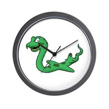 Cute Snakes on a plane Wall Clock