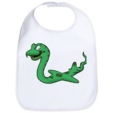 Cute Snakes on a plane Bib