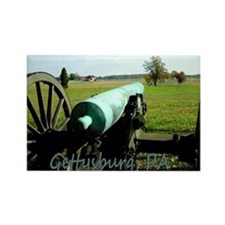 Cannon on Battlefield, Gettysburg Magnet