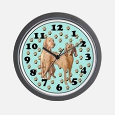 Redbone Coonhound Wall Clock Wall Clock