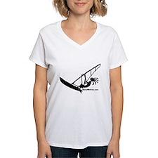 Kokopelli Windsurfer Ash Grey T-Shirt T-Shirt