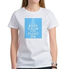 Prostate Cancer Keep Calm Fight On Tee