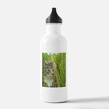 Peeking Cat Water Bottle