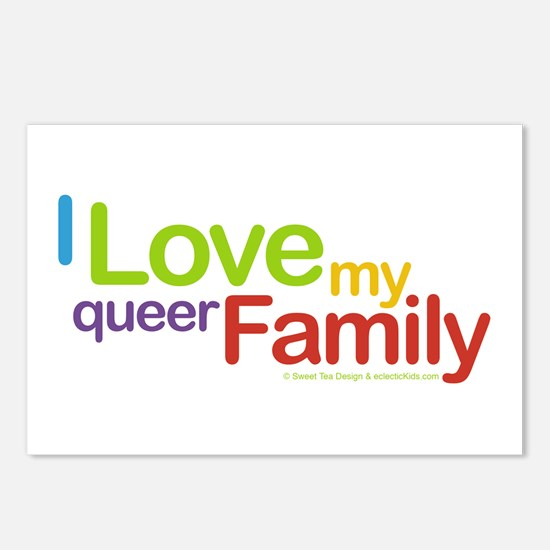 """I Love My Queer Family"" Postcards (Package of 8)"