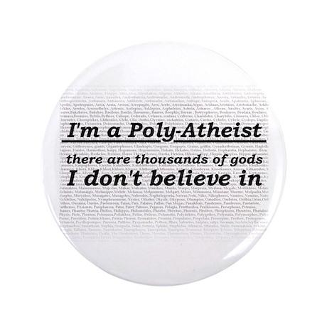 """Poly-Atheist 3.5"""" Button"""