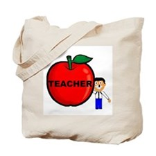 Apple for Teacher Tote Bag