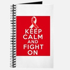Squamous Cell Carcinoma Keep Calm Journal